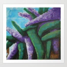 Buddleia abstract Art Print
