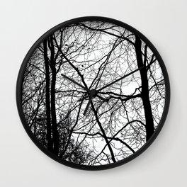 Tree Silhouette Series 3 Wall Clock