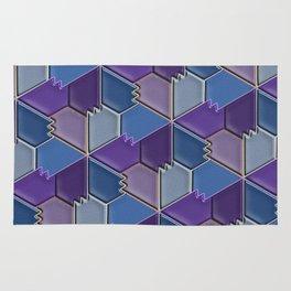Blues & Purples Rug
