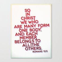 One Body Canvas Print