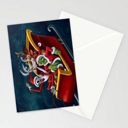 Christmas Hijackers Stationery Cards