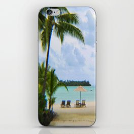 A Dreamy Day at a Tahitian Beach, Bora Bora iPhone Skin