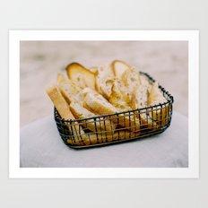 Bread Basket Art Print