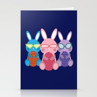 rabbits Stationery Cards featuring Rabbits by dunstanvassar