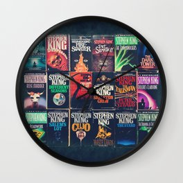 King of Horror 2 Wall Clock