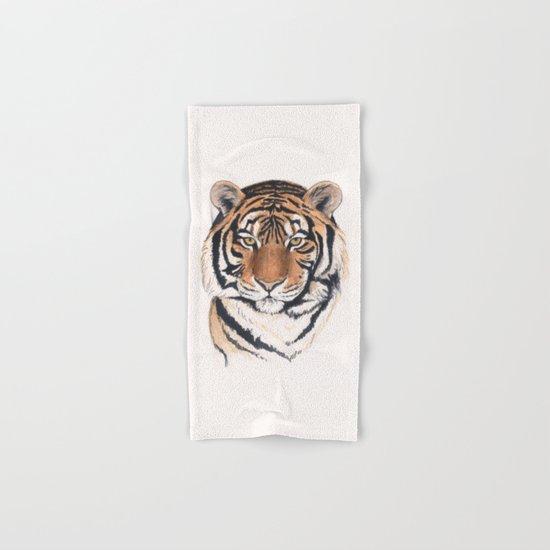 Tiger portrait no.2 Hand & Bath Towel