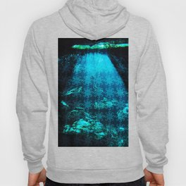 Cave Water With Logo Pattern Hoody