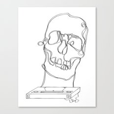 Skeleton Boy Canvas Print