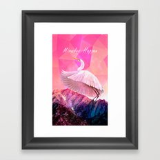 Miracles Happen Framed Art Print