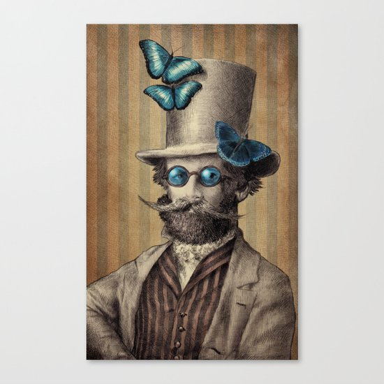 Doctor Popinjay Canvas Print