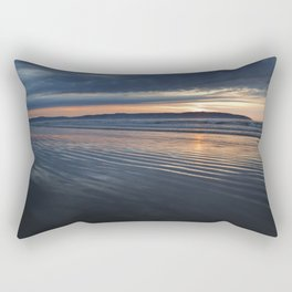Benone Beach - Sunset Rectangular Pillow