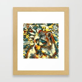 AnimalArt_Raccoon_20170601_by_JAMColorsSpecial Framed Art Print