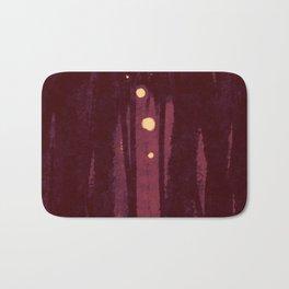 """Nightsong Sanctuary"", Digital Painting // Fine Art Print Bath Mat"