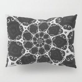 Dark Mandala #3 Pillow Sham