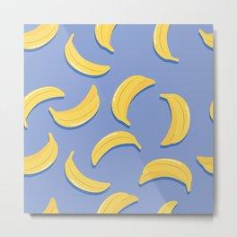 Banana pattern 01 Metal Print