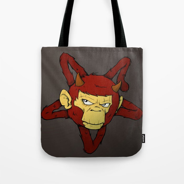 Devil Ape Tote Bag By Welldunn Society6