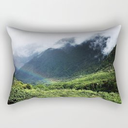 New Zealand's beauty *Fox Glacier's Tropical Forest Rectangular Pillow