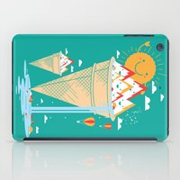 island iPad Cases featuring mystery island by Steven Toang