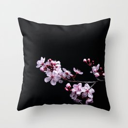 Flower Photography by David Brooke Martin Throw Pillow