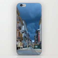 A stormy night in Alessandria, Italy iPhone & iPod Skin