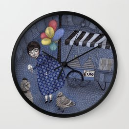 You First! Wall Clock