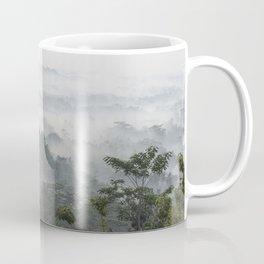 Borobudur view - foggy sunrise Coffee Mug