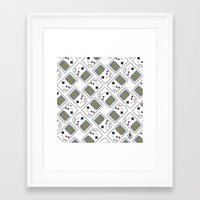 gameboy Framed Art Prints featuring gameboy by ΛDX7