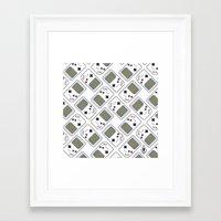 gameboy Framed Art Prints featuring gameboy by Λdd1x7