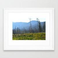 montana Framed Art Prints featuring Montana by MelissaLaDouxPhoto