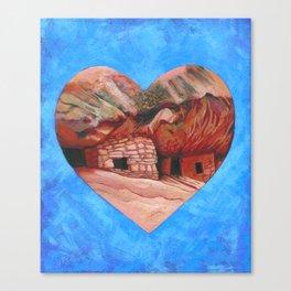 Cedar Mesa Ruin Canvas Print