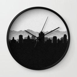 City Skylines: Salt lake City Wall Clock