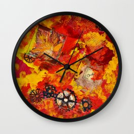 There is Nothing Left For You Back There Wall Clock