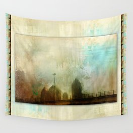 City Glimpse Wall Tapestry
