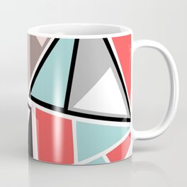 Abstract #534 Facets Coffee Mug