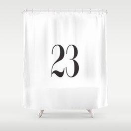 23 Shower Curtain