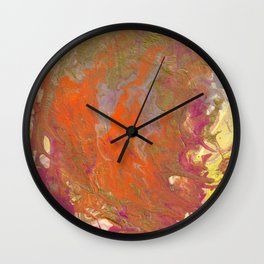 Sunset Relived Wall Clock