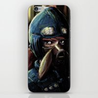 nausicaa iPhone & iPod Skins featuring Nausicaa of the Valley of the Wind by Barrett Biggers