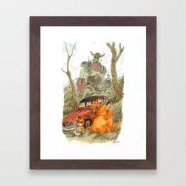 1982 Framed Art Print