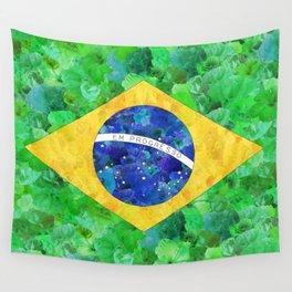 BRASIL em progresso Wall Tapestry