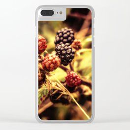 Fruits of the Forest Clear iPhone Case