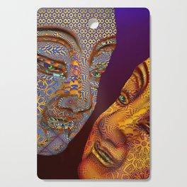 two buddhas Cutting Board