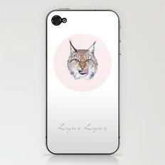 Lynx Lynx portrait iPhone & iPod Skin