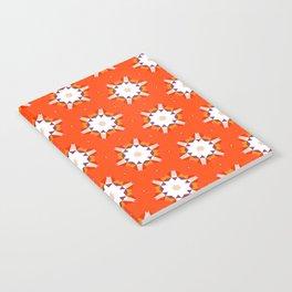 Geometric print Notebook