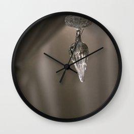 Shabby Chic Chandelier Wall Clock