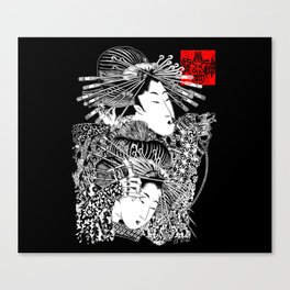 Shaders and Liners Canvas Print