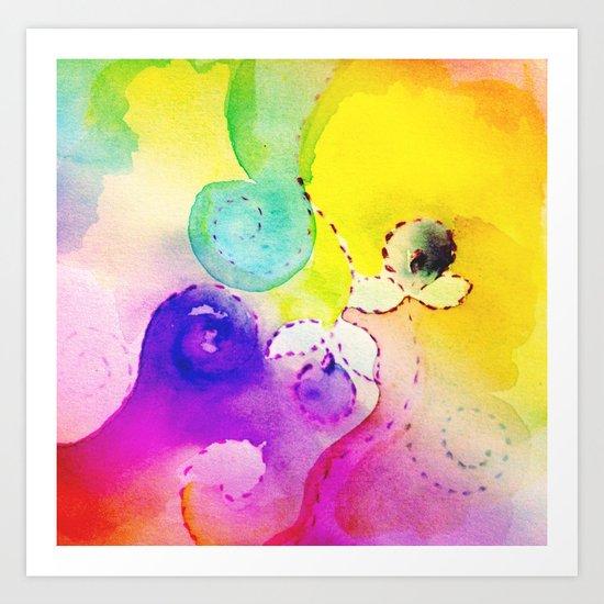 Acqua Art Print