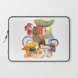 Woodland Mushroom Society Laptop Sleeve