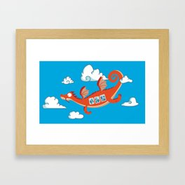 Dragonia Air Framed Art Print