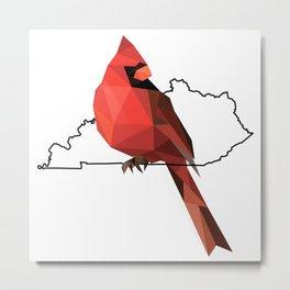 Kentucky – Northern Cardinal Metal Print