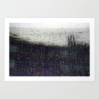 wet  Art Print